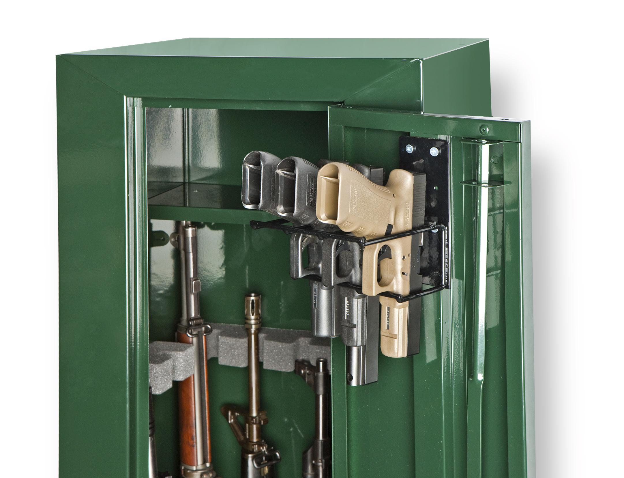 3 Pistol Gun Cabinet Holster Sku 6020 Rack Em Racks