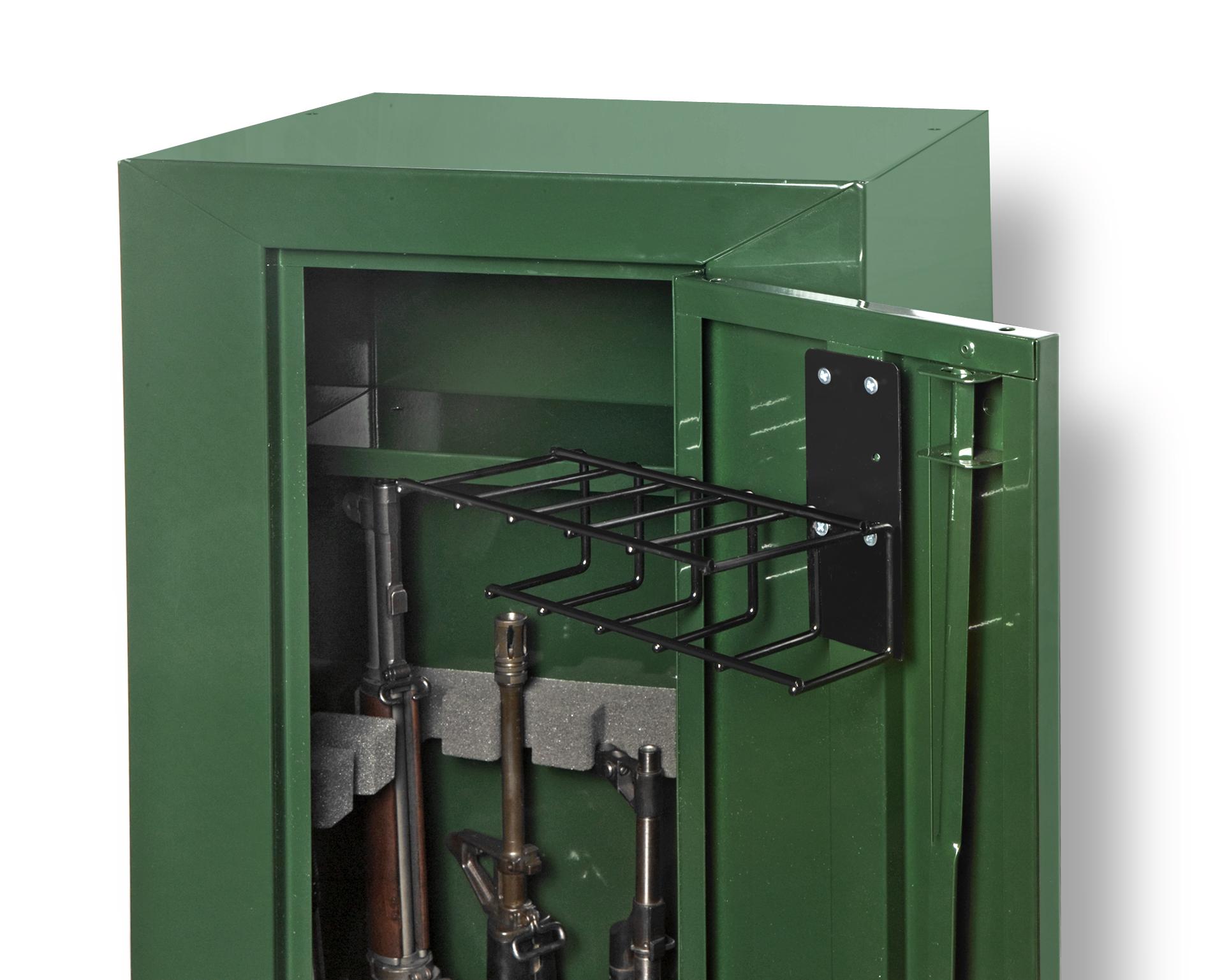 5 Pistol Gun Cabinet Holster Sku 6024 Rack Em Racks